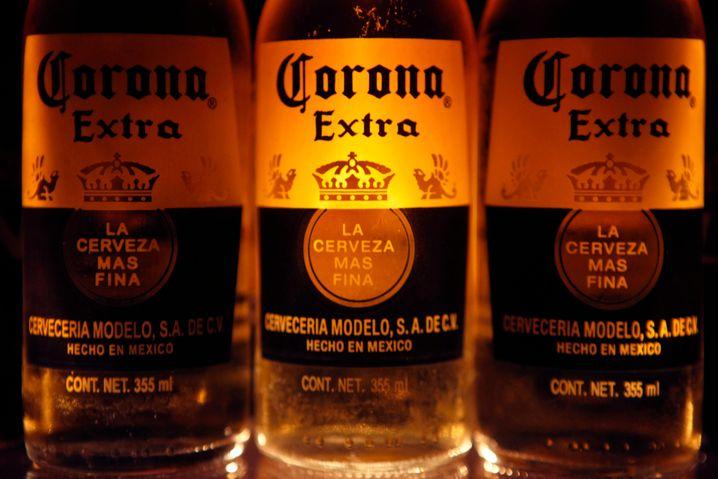 Corona-Bier aus Mexiko: Der Exportschlager wird langsam knapp.