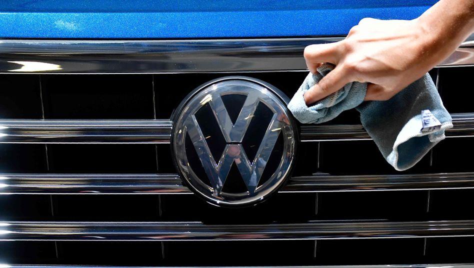 Mit dem Dieselskandal hat der Ruf von Volkswagen in Punkten gemessen stark gelitten