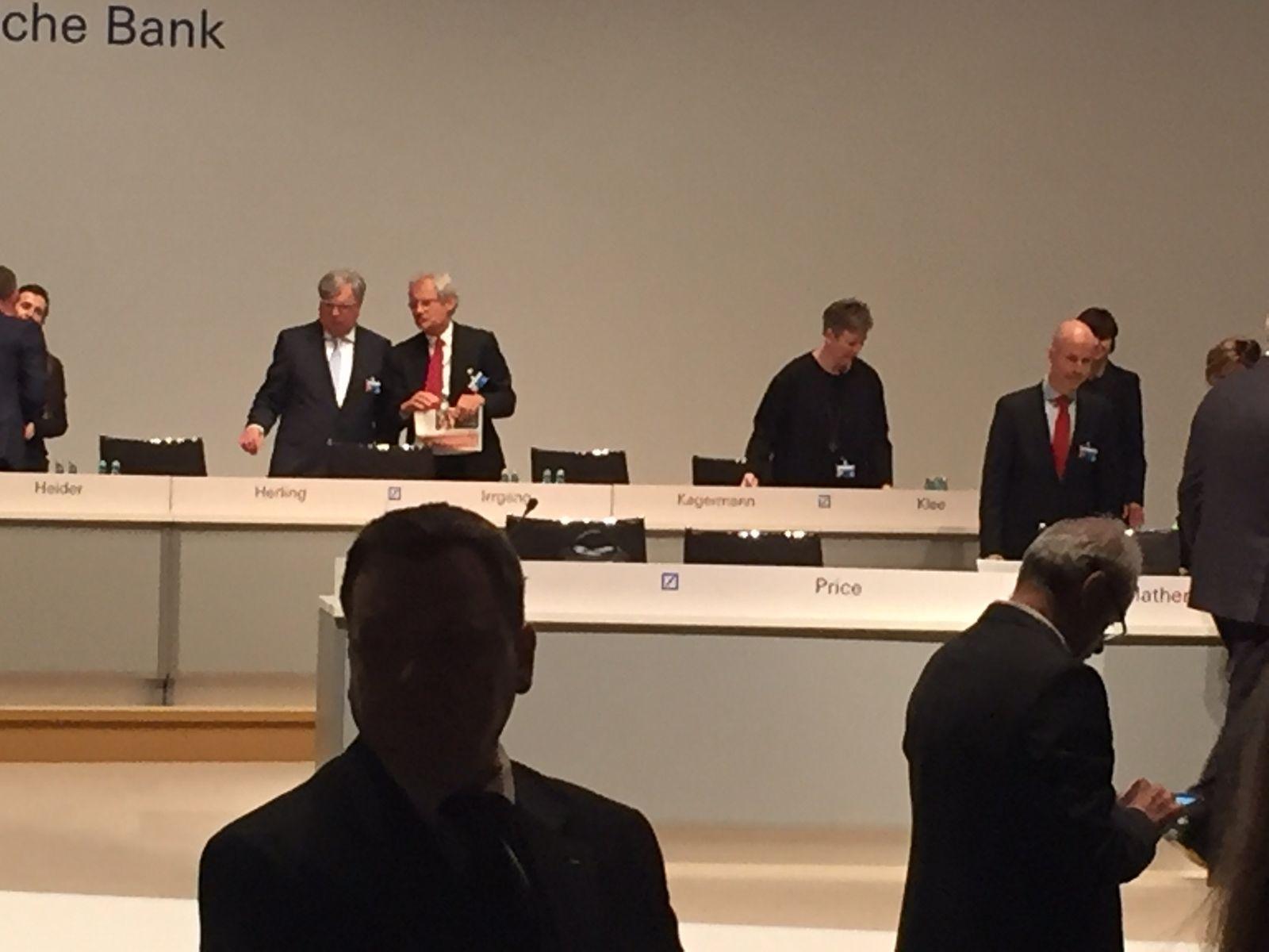 Deutsche Bank / HV
