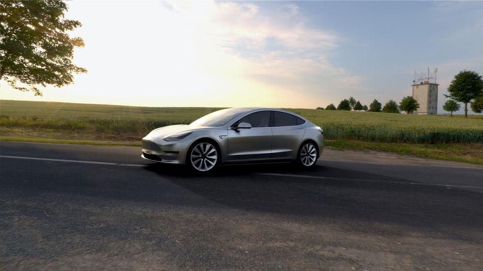Teslas neues Model 3: So sieht das Auto aus, das Audi, BMW und Mercedes fürchten