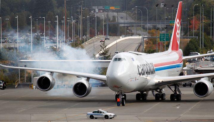 Steht zumindest als Frachter noch in Boeings Auftragsbüchern: die Luftfahrtikone 747