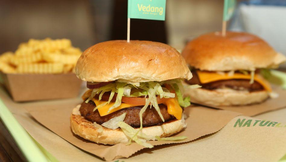 Beyond Meat Burger: Die Aktie des Fleischersatz-Herstellers erholt sich
