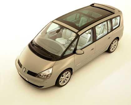 Renault Espace Concept: Gegen den Trend zugelegt