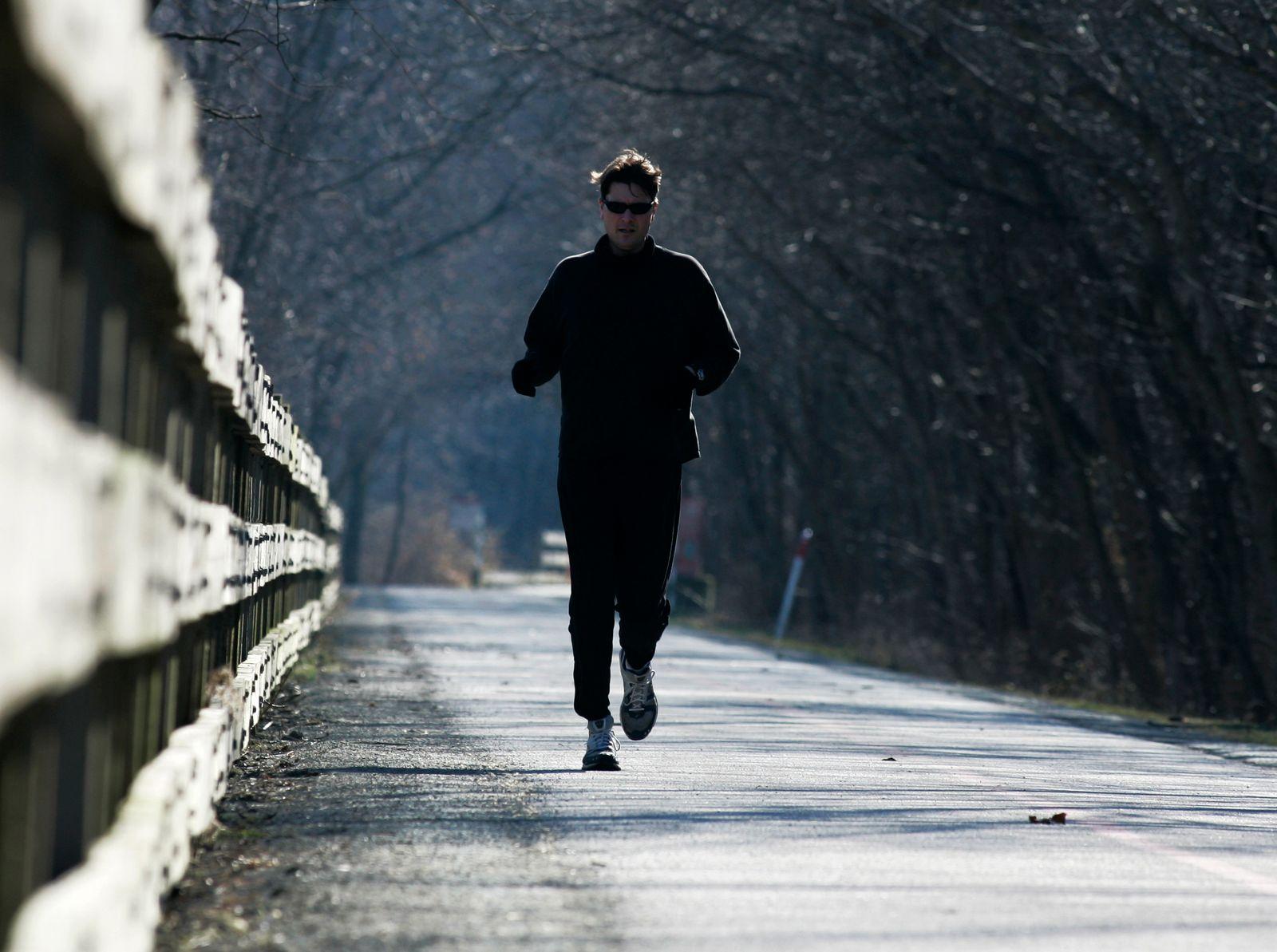 Winter / Joggen / Sport