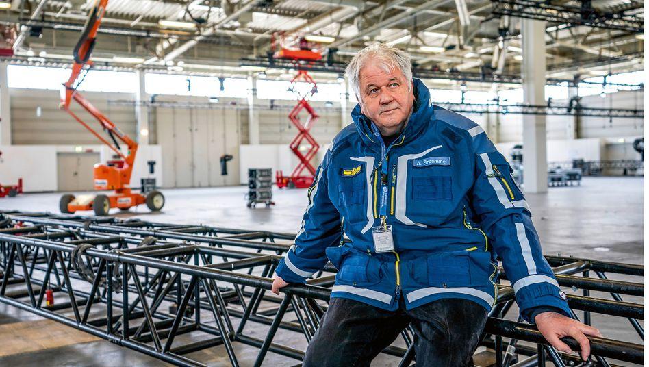 Albrecht Broemme, Katastrophenhelfer
