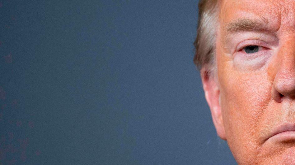 US-Präsident Donald Trump: Der Streit mit dem Kurznachrichtendienst Twitter verschärft sich