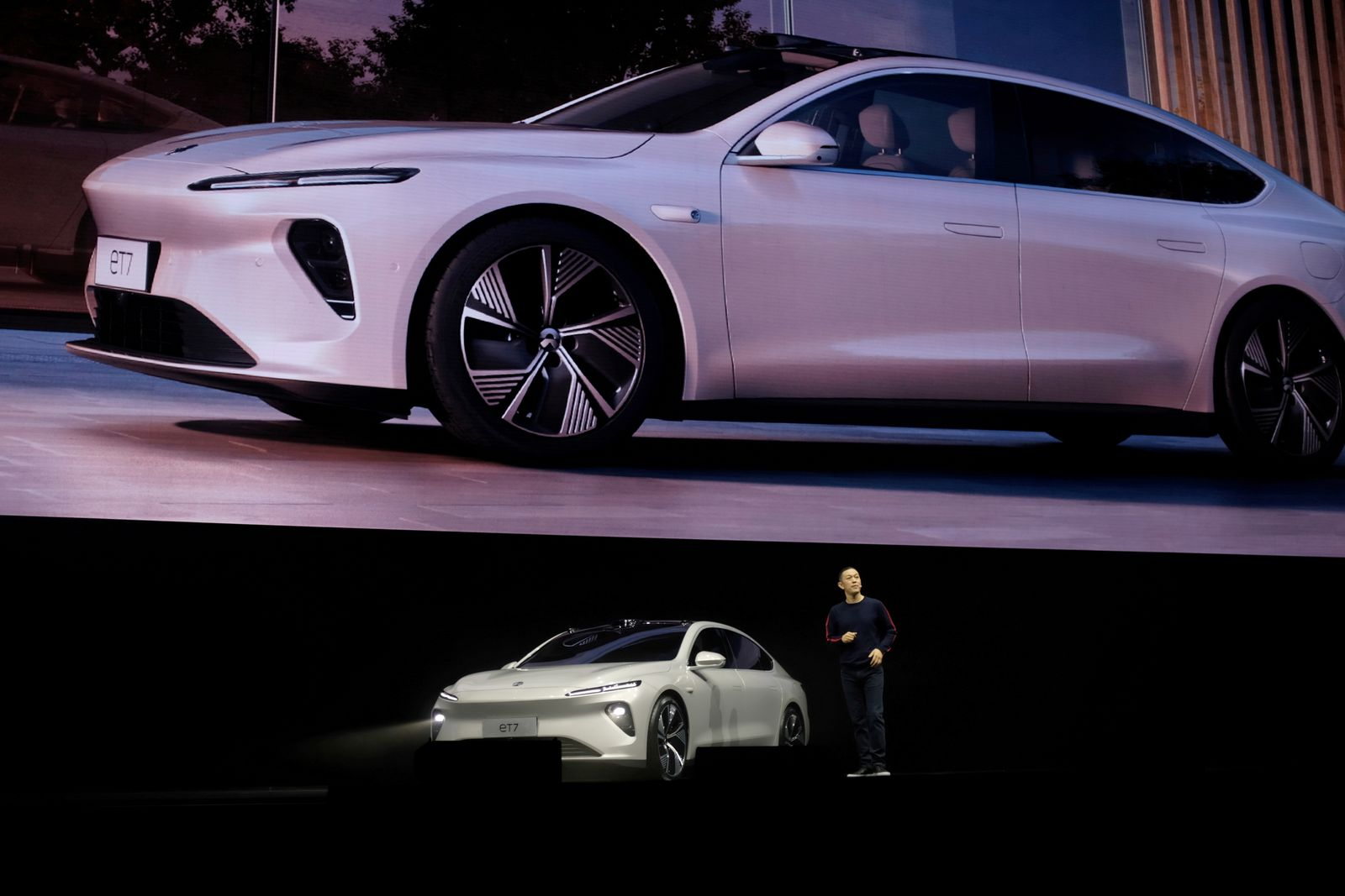 FILE PHOTO: Chinese electric vehicle maker Nio Inc's product launch event in Chengdu