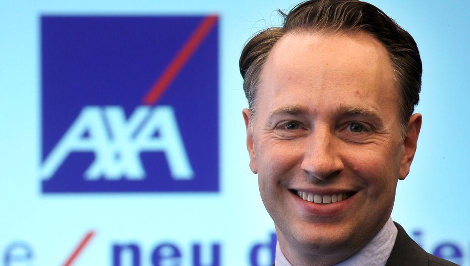 Jugendlich-charmant: Doch Thomas Buberl, desgnierter Axa-Konzernchef, kann auch anders