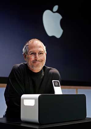 Jobs' Megahit: Die Kombination mit iTunes verhalf dem iPod zum Erfolg
