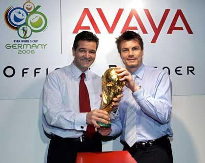 Offizieller WM-Sponsor: Die Lucent-Tochter Avaya