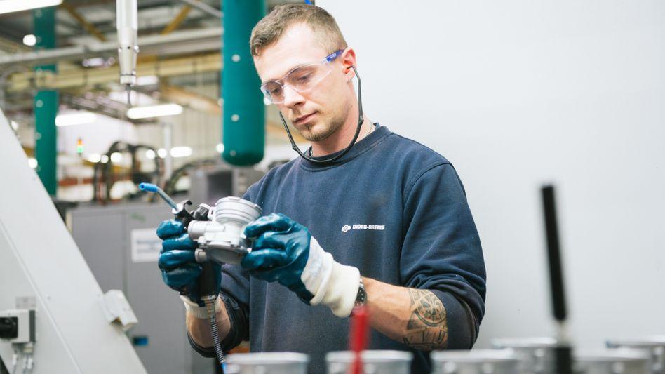 Bremsenproduktion bei Knorr-Bremse