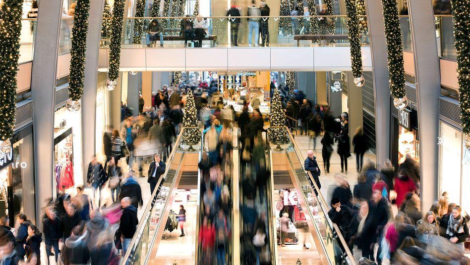Weihnachtshopping in Hamburg: Den Menschen geht es gut - doch die Unzufriedenheit steigt