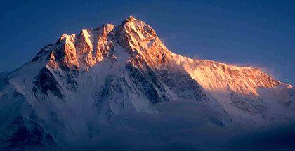 8000er unter sich: Während es der Nanga Parbat auf 8125 Meter bringt, erklomm der Dax heute 8030 Punkte