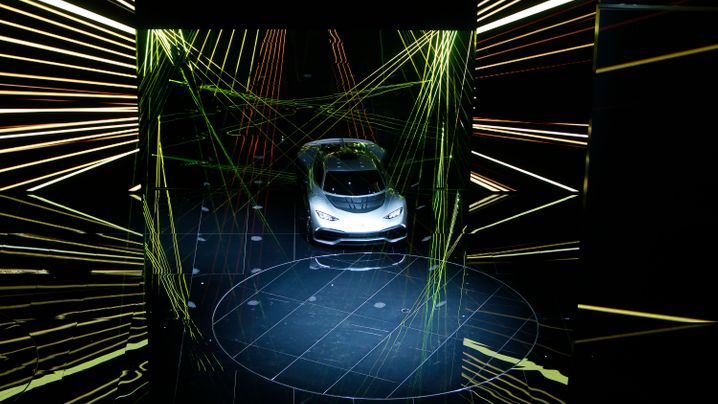 Daimlers Supersportwagen: Mercedes AMG Project One