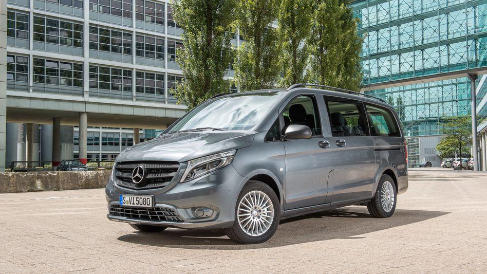 Mercedes Vito: Dieselautos mehrerer Baureihen musste Daimler zurückrufen, trotz 870 Millionen Euro Bußgeld hofft der Konzern vergeblich auf ein Ende der Diesel-Affäre