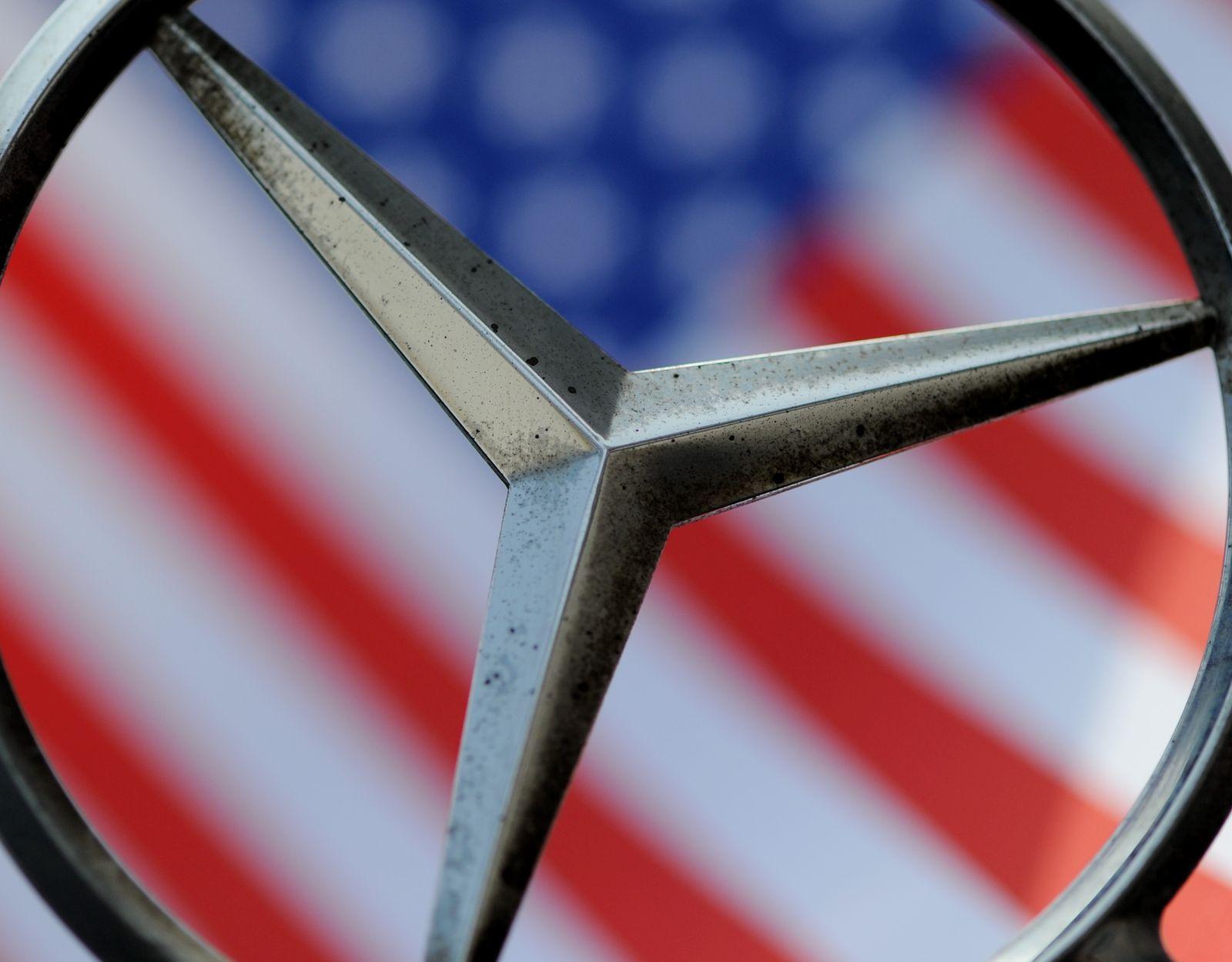 Daimler / US-Flagge