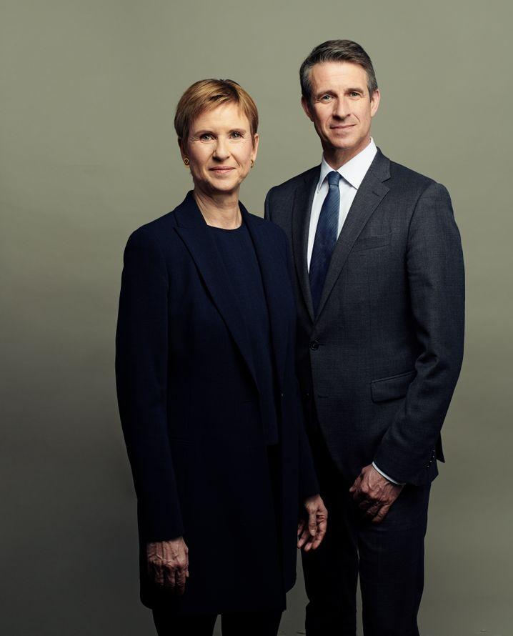 Erstes gemeinsames Interview: Susanne Klatten und ihr Bruder Stefan Quandt.