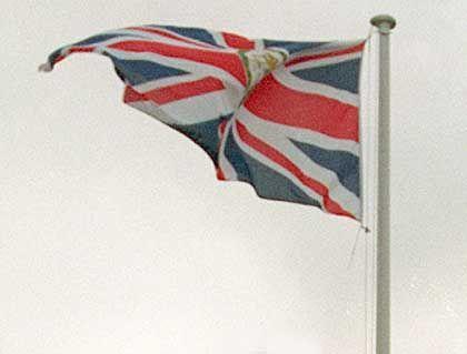 Fröhlich im Wind: Die britische Wirtschaft bewegt sich weiter aufwärts