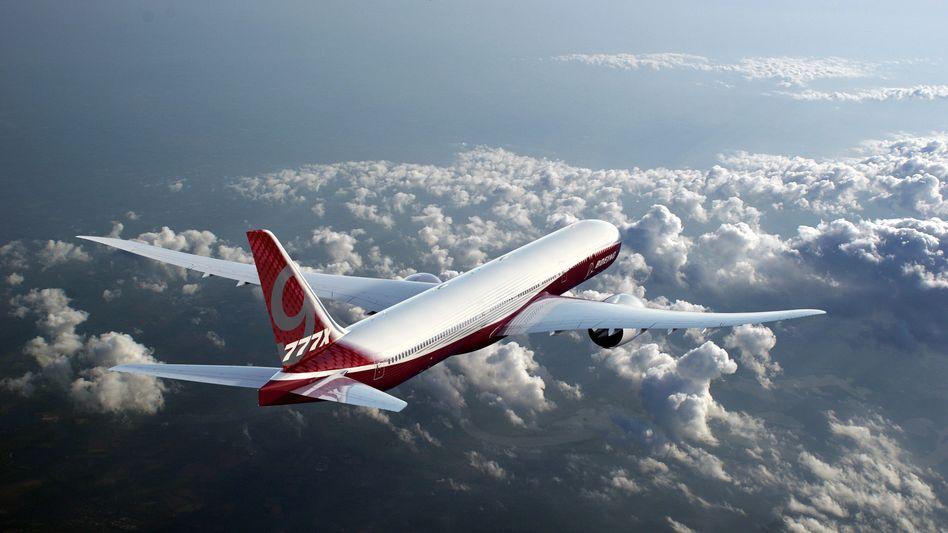 21 Stunden Non-Stop-Flug mit Boeing 777X: Die australische Fluggesellschaft Qantas will die Strecke London- Sydney mit einer neuen Ultra-Langstreckenversion des Typs kontinuierlich fliegen. Doch Boeing hat Probleme.