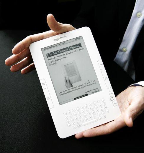 Spitzenposition auf kleinem Markt: Amazons E-Book Kindle