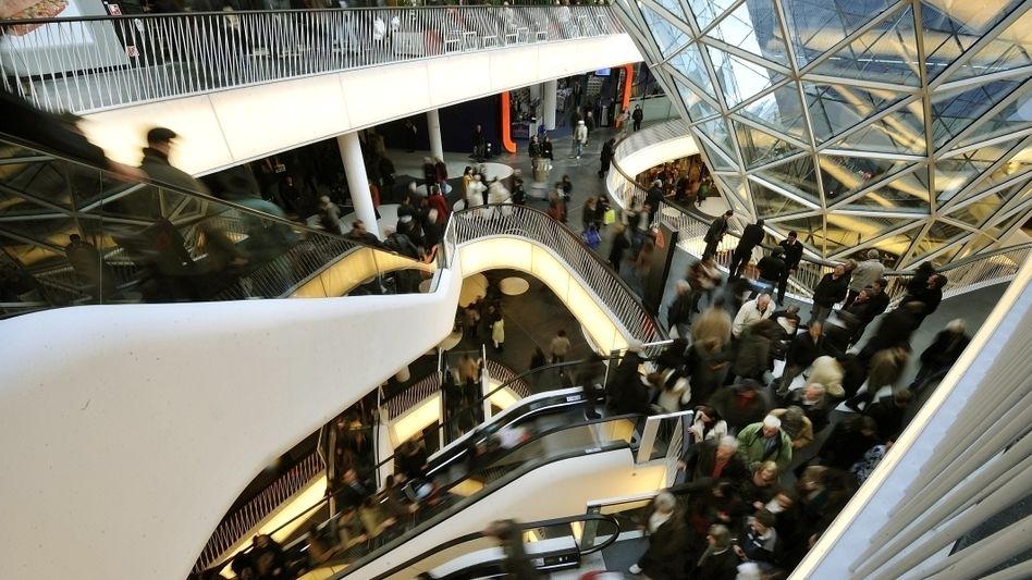 Weniger Einkäufe: Die Experten des DIW fürchten einen Rückgang beim