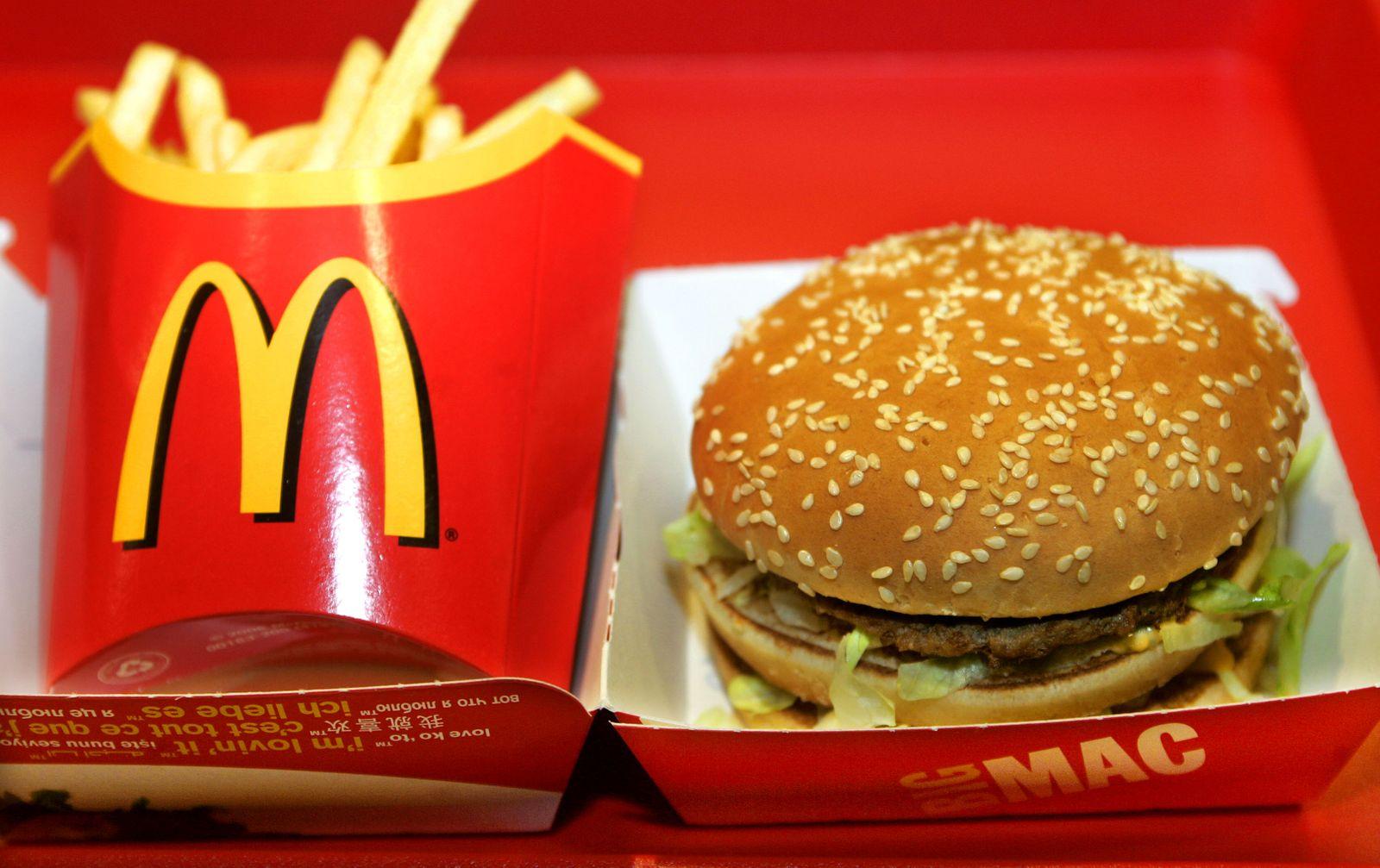 McDonald's / Pommes / Big Mac / Hamburger / Cheeseburger / Fast Food