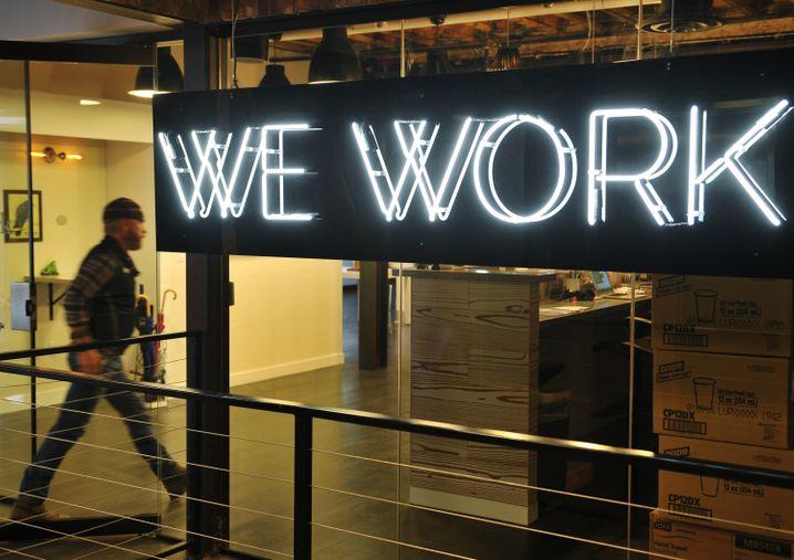 WeWork-Niederlassung in Washington