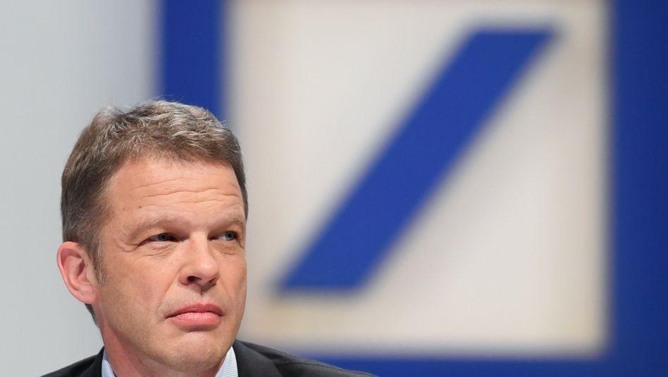 Europas Banken müssen ihre Stärken bündeln, sagt Deutsche-Bank-Chef Christian Sewing