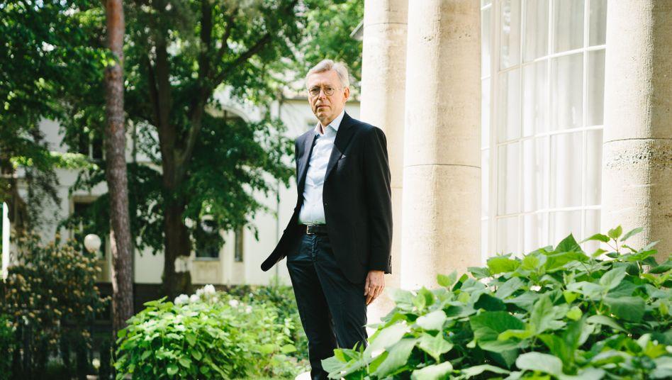 Bankenkapitän: Obwohl er nie eine Banklehre absolviert hat, stieg Christopher Pleister bis in den Vorstand der DG Bank auf.