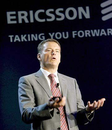 Harte Schanitte: Ericsson-Chef Carl-Henric Svanberg wird weltweit 4000 Stellen streichen