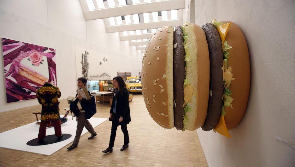 Stilbildend: Ein Big Mac auf einer Expo-Ausstellung in Mailand