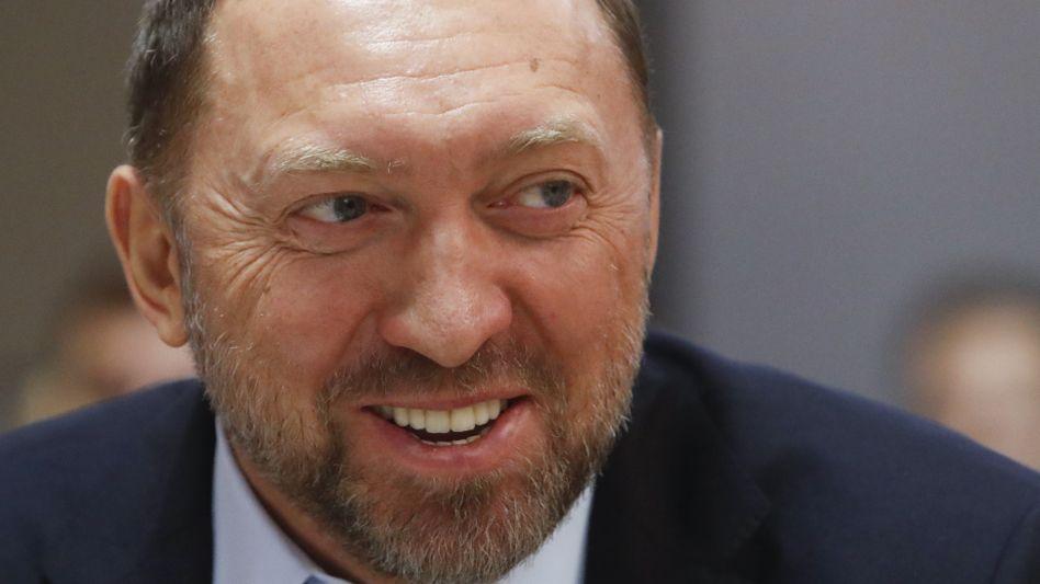 Oleg Deripaska: Dem russischen Oligarchen gehört die Mehrheit an dem Aluminiumhersteller Rusal