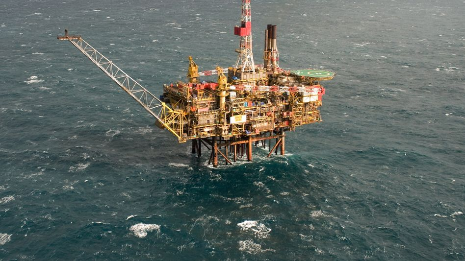 Ölplattform in den Nordsee: Wird der Ölpreis weiter steigen?