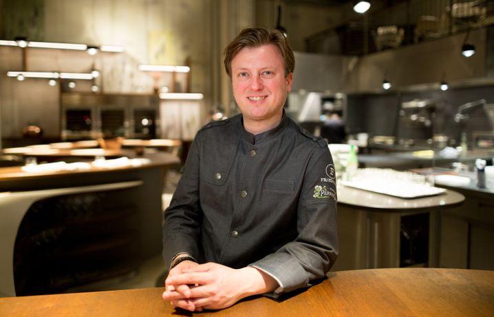 Drei-Sterne-Koch Kevin Fehling schaut weit über jeden Tellerrand
