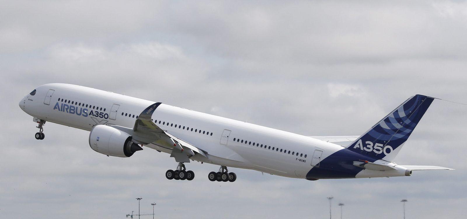Airbus A350 XWB / Jungfernflug
