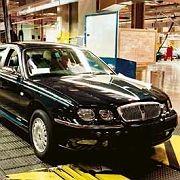 Nostalgisches Bild: Rover-Produktion in Longbridge