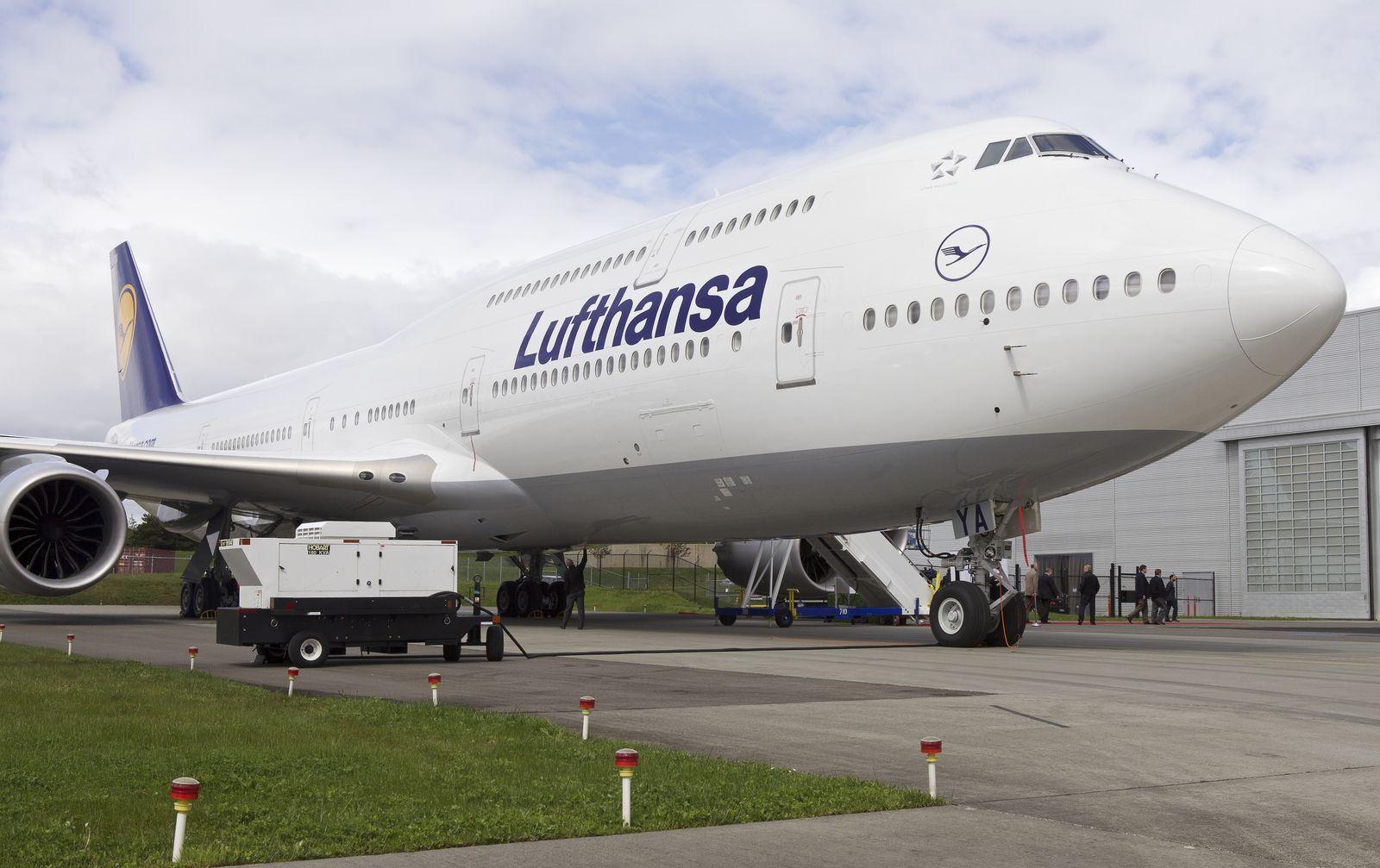 Boeing 747-8 / Lufthansa