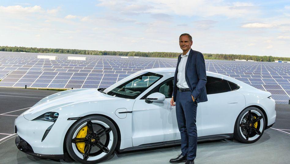 Porsche Taycan, Porsche-Chef Oliver Blume
