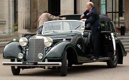 Nur 88 Exemplare sind jemals gebaut worden: Ein Mercedes 770, Baujahr 1935