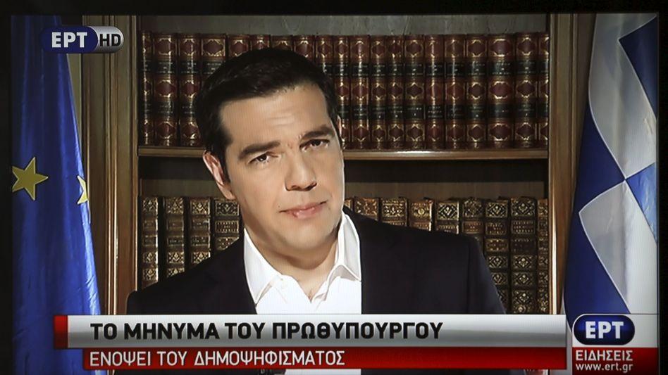 """Alexis Tsipras: """"Ich rufe Euch auf, mit """"Nein"""" gegen die Spaltung und die Angstpropaganda zu stimmen"""""""