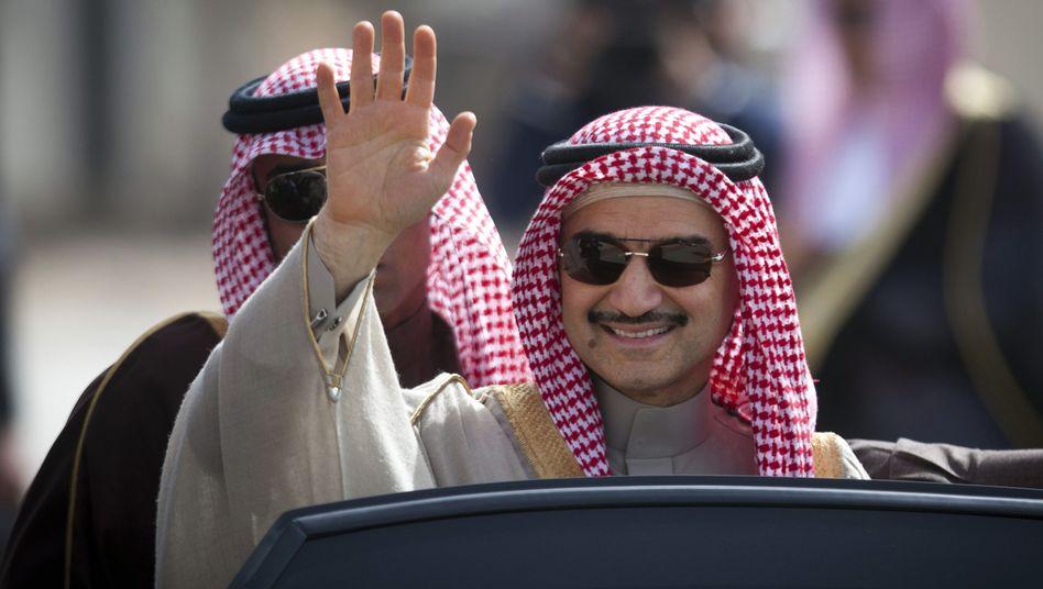 Prinz Al-Walid bin Talal: Seit einigen Tagen wieder ein freier Mann
