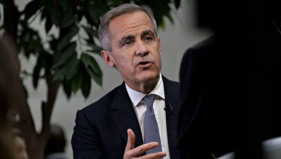 Vom Notenbanker zum UN-Beauftragten für Klimafinanzierung: Mark Carney, Governor der Bank of England.