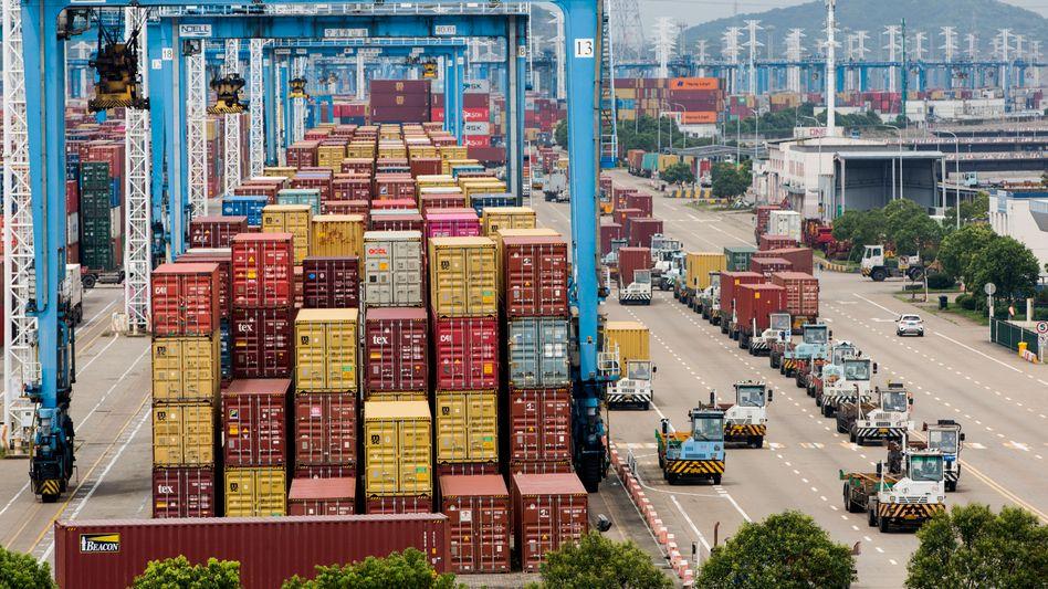 China stoppt die Lieferungen