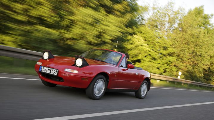 Oldtimer Mazda MX-5: Das Comeback des Roadsters