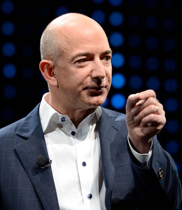"""Jeff Bezos, Herr über Amazon - und Platz 4 der Reichstenliste von """"Bloomberg"""""""