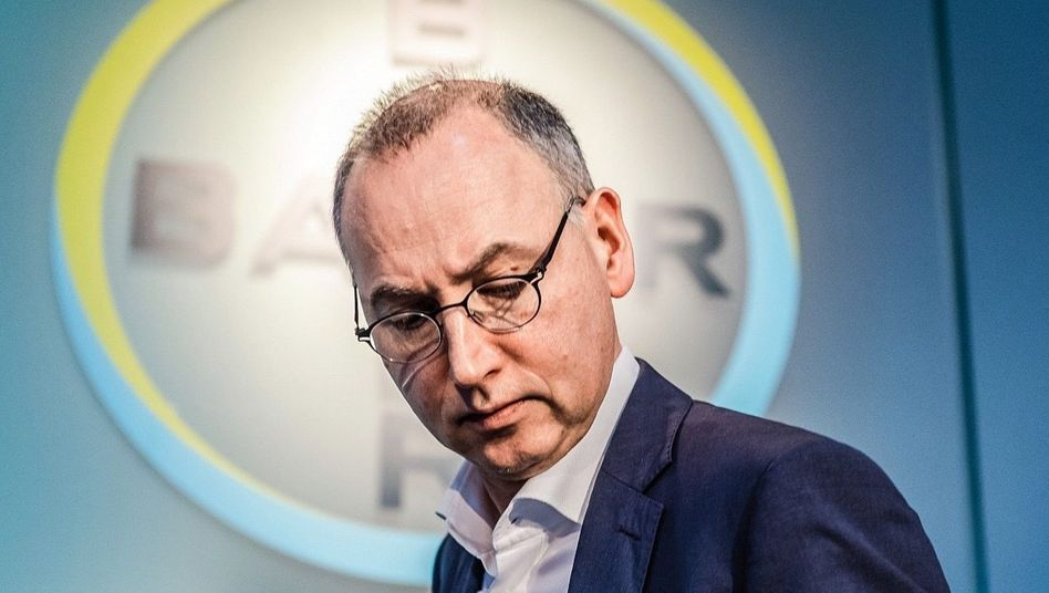 Monsanto-Opfer: Bayer-Chef Werner Baumann handelte sich eine Prozesslawine ein