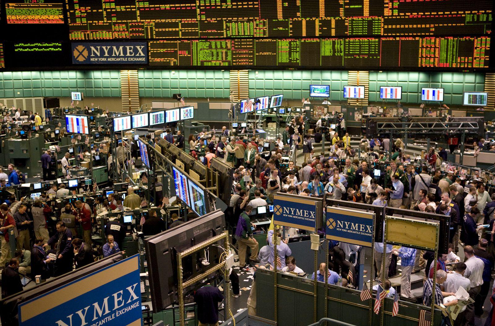 Öl Rohstoffbörse Nymex