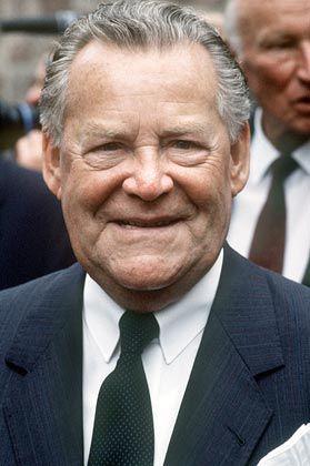 Mit ihm fing alles an: Gründer Max Grundig, der 1989 im Alter von 81 Jahren starb