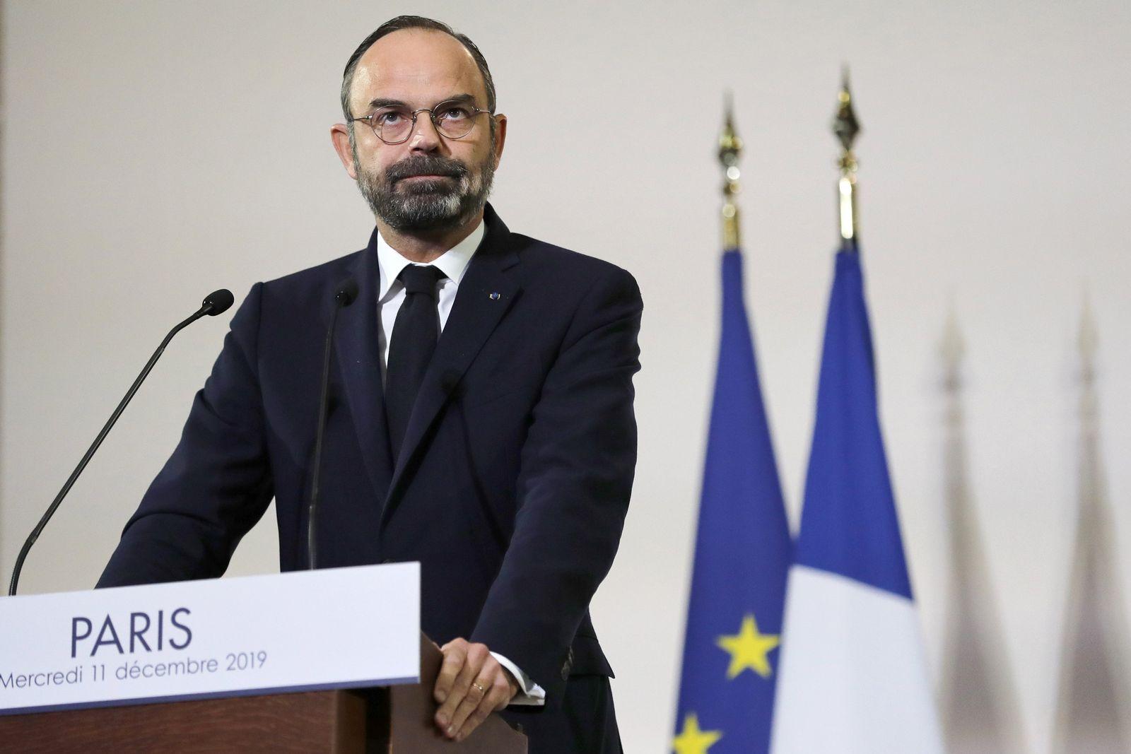 Generalstreik in Frankreich - Premierminister Philippe