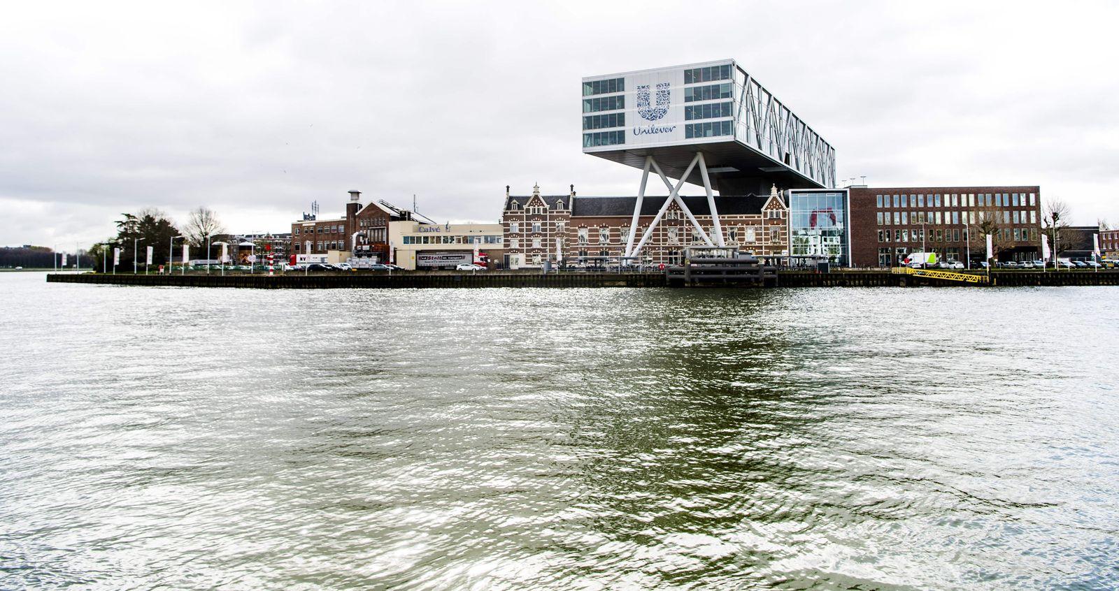 NETHERLANDS-BRITAIN-UNILEVER-FOOD-SALE-MARGARINE